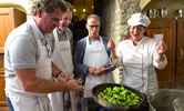 One week Italian Cooking classes