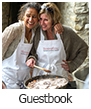 Guestbook cooking classes in Italy